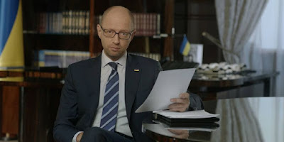 Prime Minister Yatsenyuk said that the elections will be held in the Donbass only after Russia fulfills the Minsk Agreement