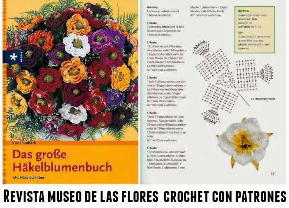 Revista museo de las flores de crochet