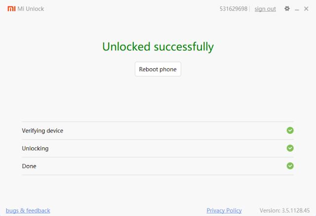 Cara Unlock Bootloader Semua Xiaomi Terbaru Dengan Mudah