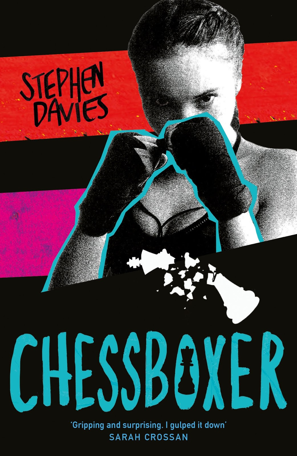Chessboxer cover reveal | Stephen Davies | Superior Young Adult Fiction