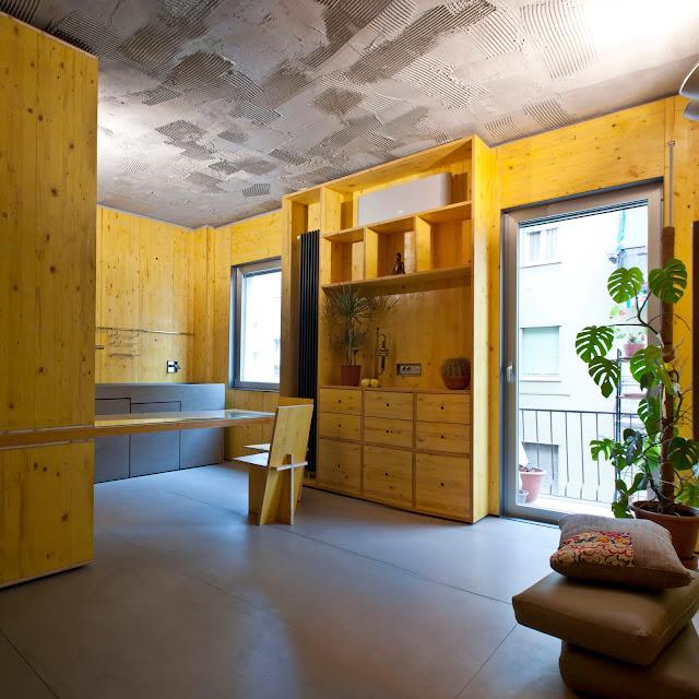 disegno di arredo di interno architetto brescia