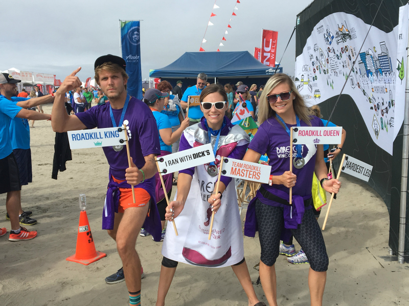 Hood to Coast Relay, Team Foot Patrol, HTC16, Barefoot Wine and Bubbly