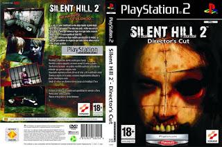Capa Silent Hill 2 - Directors Cut PS2 Versão Platinum 2001