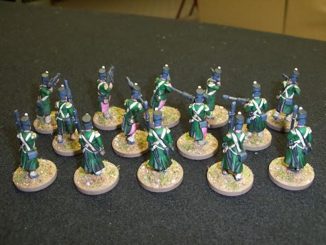 Renegade Imperial Guard Conscripts Victrix/Perry