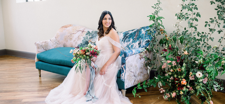 Velvet Wedding Inspo with Bright Hues and Soft Pastels