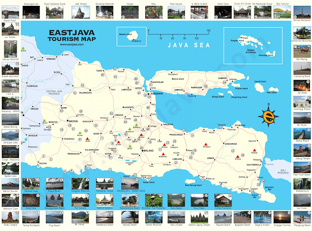 Peta Wisata Jawa Timur