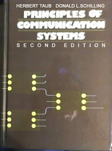 Principles of Communication Systems second edition by  herbert taub and donald l schilling