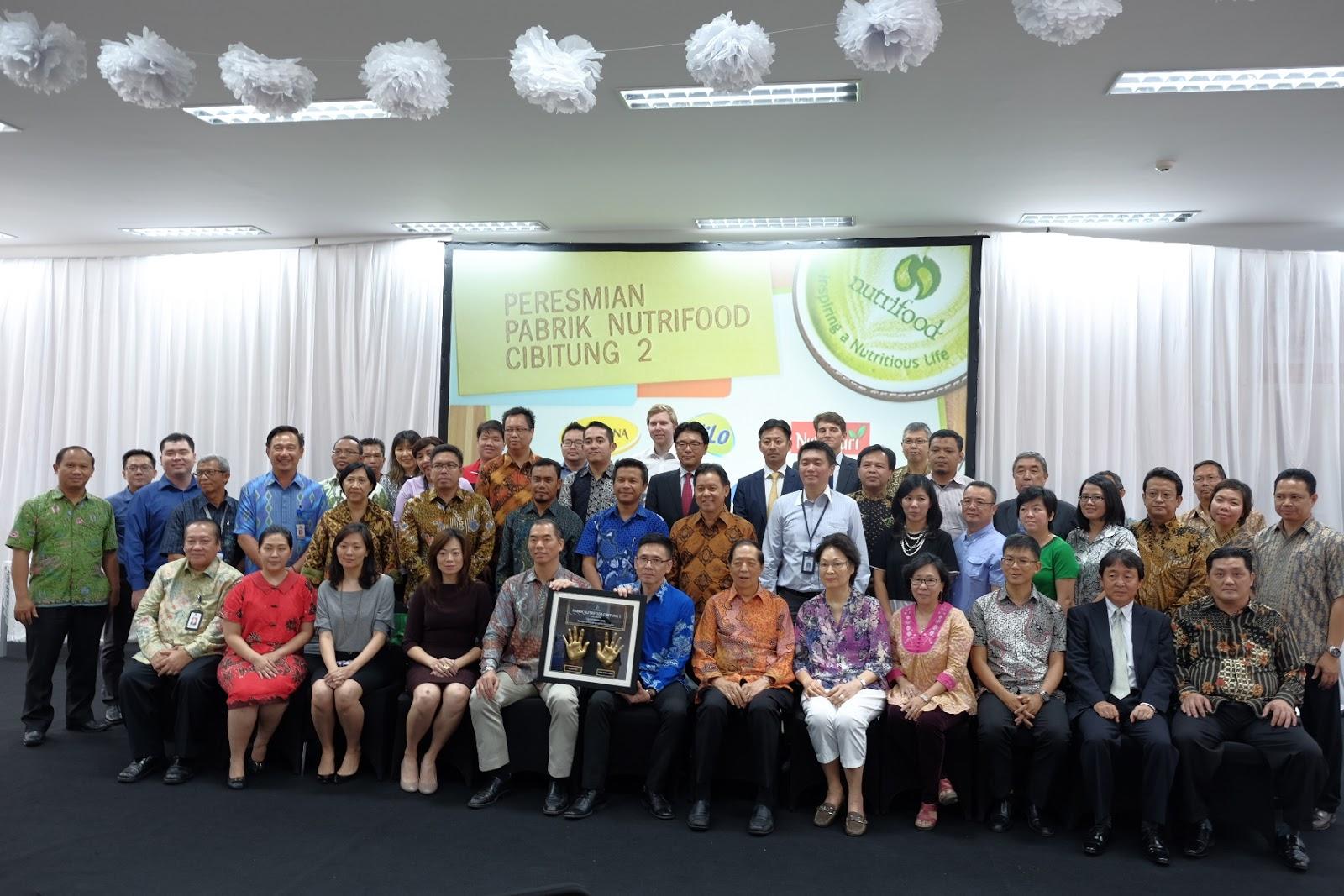 Lowongan Kerja Tingkat SMK/SMA PT.Nutrifood Indonesia Plant Cikarang Bekasi