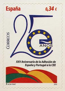 XXV ANIVERSARIO DE LA ADHESIÓN DE ESPAÑA Y PORTUGAL A LA CEE