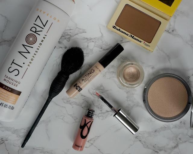 malta, summer glow, makeup, st moriz, benefit, nars, collection, the balm, topshop, hannah rose, hanrosewilliams, blogger, beauty,