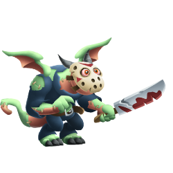 Appearance of Jason Dragon when teenager