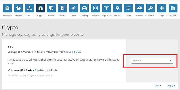 Cara Mengatur SSL HTTPS Gratis dari Situs Cloudflare