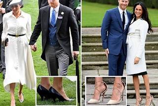 Alasan Meghan Markle Rutin Pakai Sepatu yang Kebesaran
