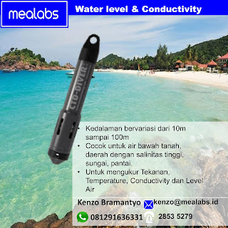 Water Level dan Conductivity Logger