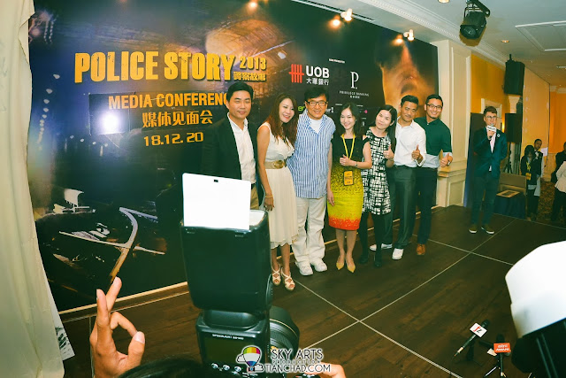 Jackie Chan in Malaysia for Police Story 2013 成龙警察故事2013大马电影宣传