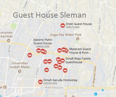 guest house daerah sleman