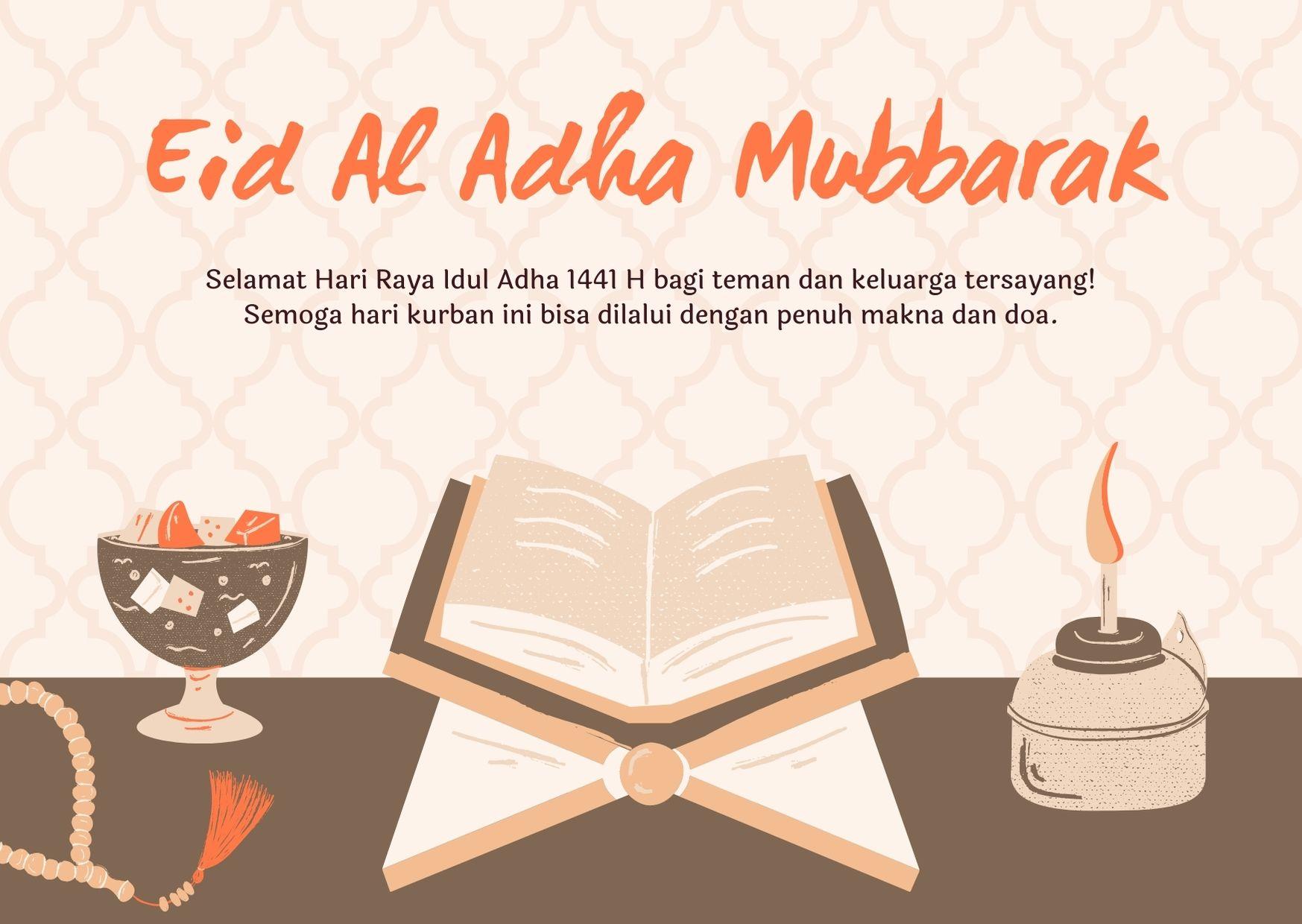 Gambar Kata Ucapan Selamat Idul Adha 1442H Terbaru