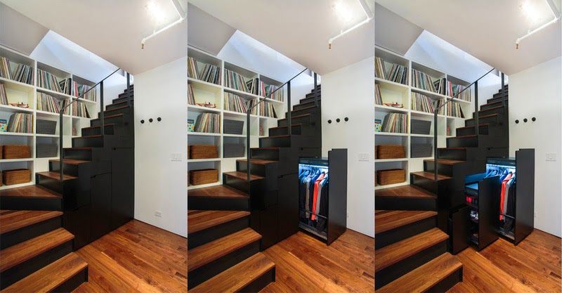 Hogares frescos inteligentes ideas de almacenamiento for Escaleras de duplex