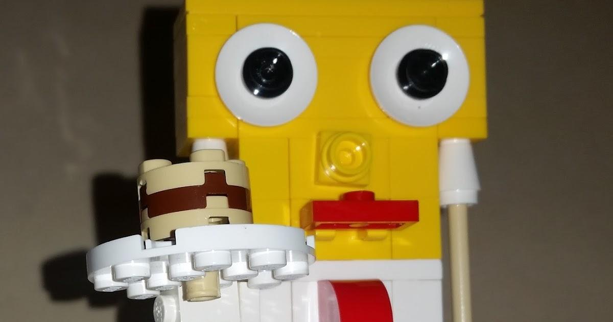 Homemade Lego Advent Calendar 2015: Day 4 - SpongeBob Squarepants