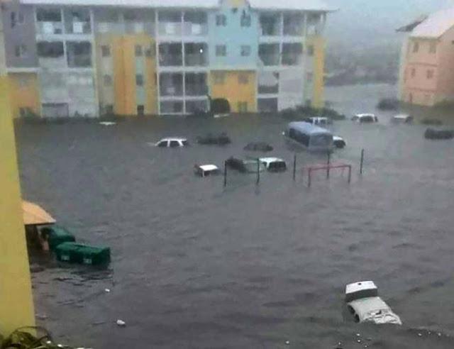 Al menos 6 personas han muerto en la isla de San Martín tras el paso del huracán Irma