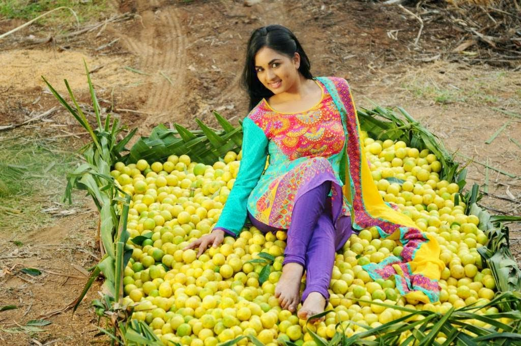 Srushti Dange Stills from Navarasa Thilagam Movie