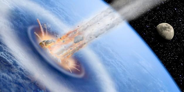 asteroide que atinge o oceano não deve causar tsunami