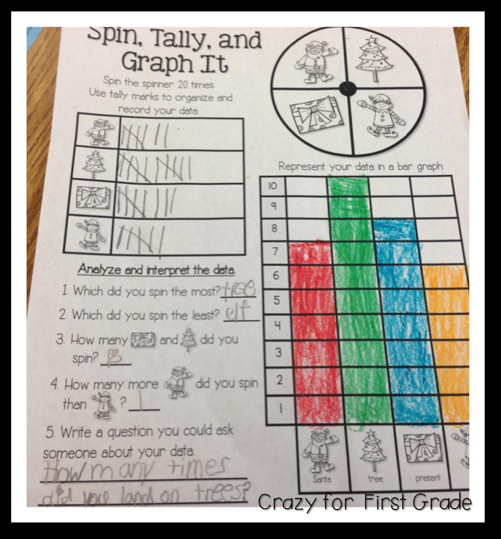 Just Graph It Sneak Peek W Freebies Crazy For First Grade