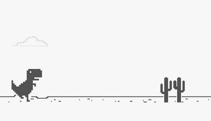 Dino Run - Το κρυφό παιχνίδι του Google Chrome
