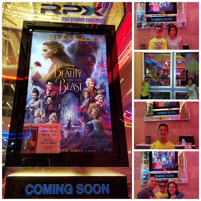 Disney Beauty and The Beast preview Regal Cinemas