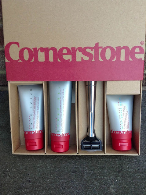 Cornerstone shaving box