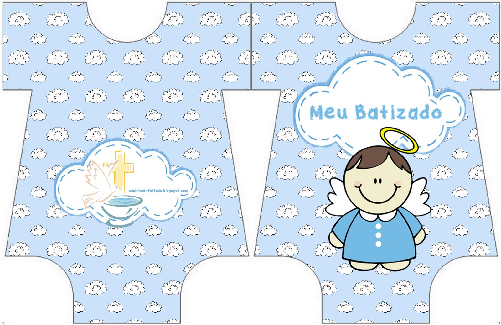 Casinha De Crianca Kit Festa Batizado Menino Para Imprimir Gratis