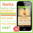 Shopping with the new ibotta app & getting paid by my favorite brands: Frugal Family