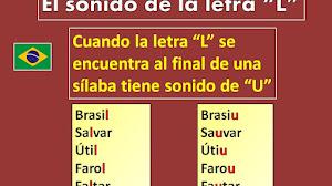 """El sonido de la letra """"L"""" en el portugués de Brasil (¡con audio!)"""