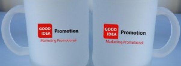 Promosi bisnis dengan menggunakan mug atau cangkir kopi