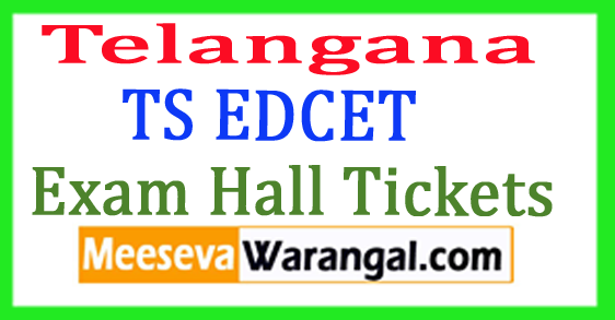 Telangana TS EDCET Exam Hall Tickets