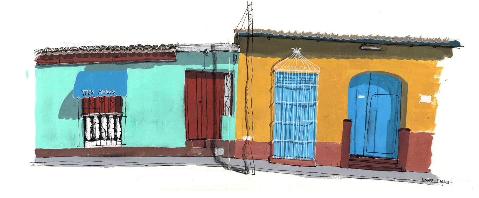 Cuba   Urban Sketchers