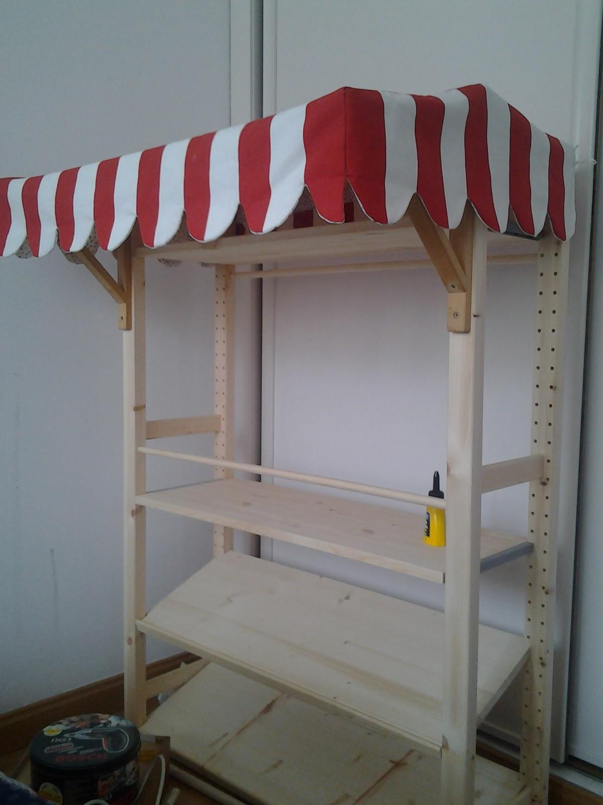 Partimos de la estantería Ivar de Ikea (podría valer cualquier otra  estanteria que tengais o que veais por ahí) porque nos venía bien de tamaño  y de precio ... fdecb7a5bf20