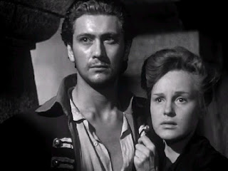 Cesare Danova in his debut film, The Captain's Daughter, with co-star Irasema Dilián