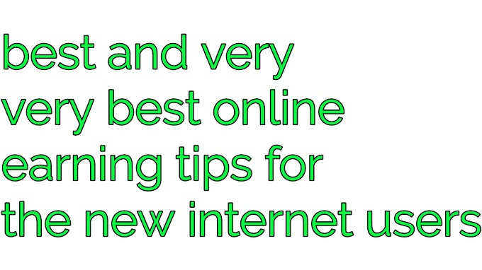 Best earning tips