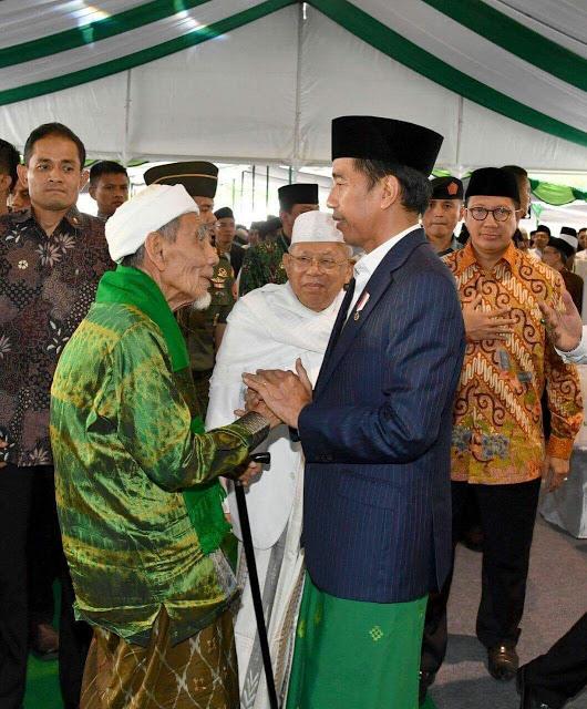 Presiden Jokowi: Jika Ulama dan Umara Beriringan Negara Aman Tenteram