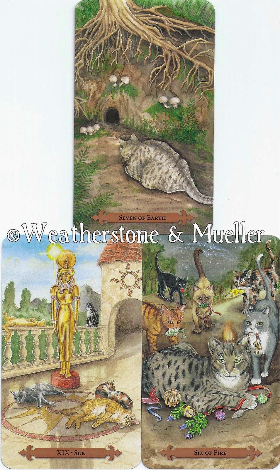 Inner Whispers: Mystical Cats Tarot Reading