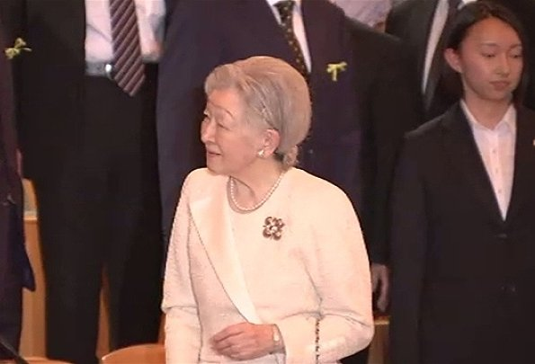 Japan's Empress Michiko attended a charity concert held for the benefit of 2011's Great East Japan Earthquake, style dress, christimas gift