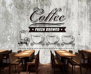 Desain dinding cafe