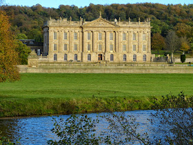 Chatsworth from across the river