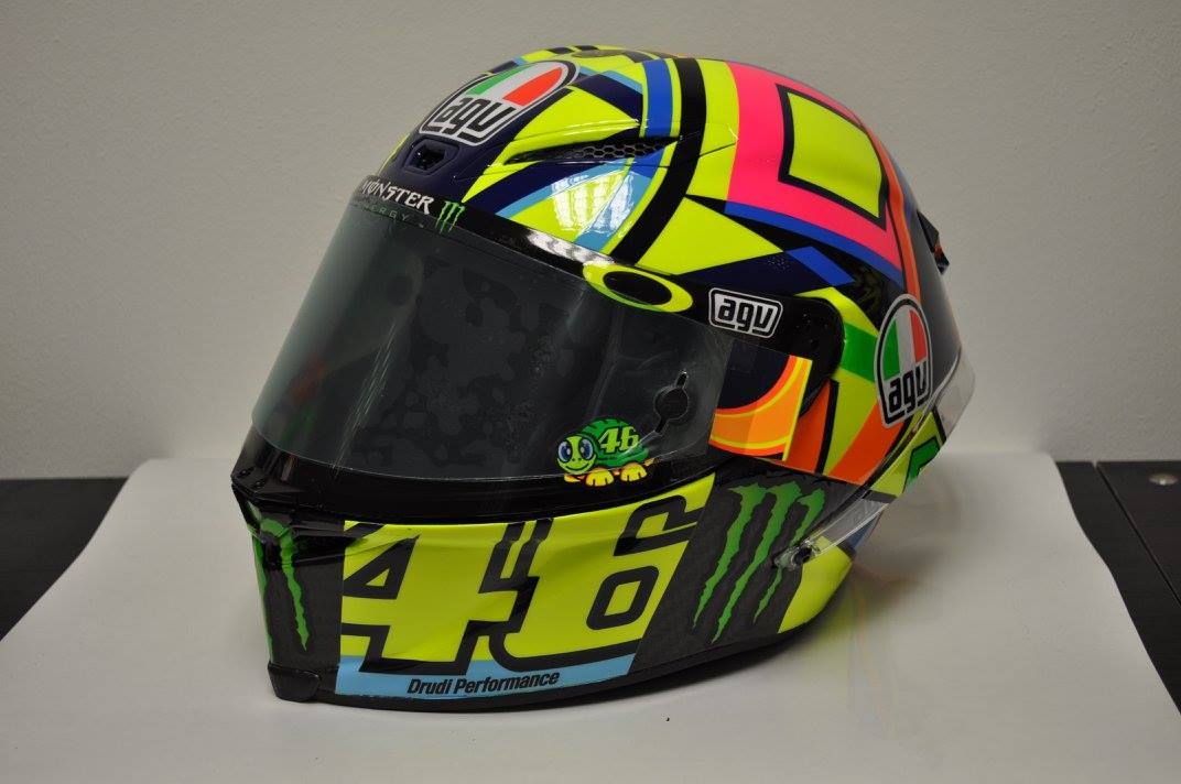 helm 37 agv pistagp valentino rossi 2016 by drudi. Black Bedroom Furniture Sets. Home Design Ideas
