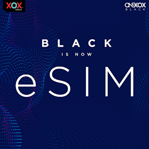 XOX eSIM for iPhone XR, XS, XS Max, iPad Pro 2018, Google Pixel 3XL or Google Pixel 3