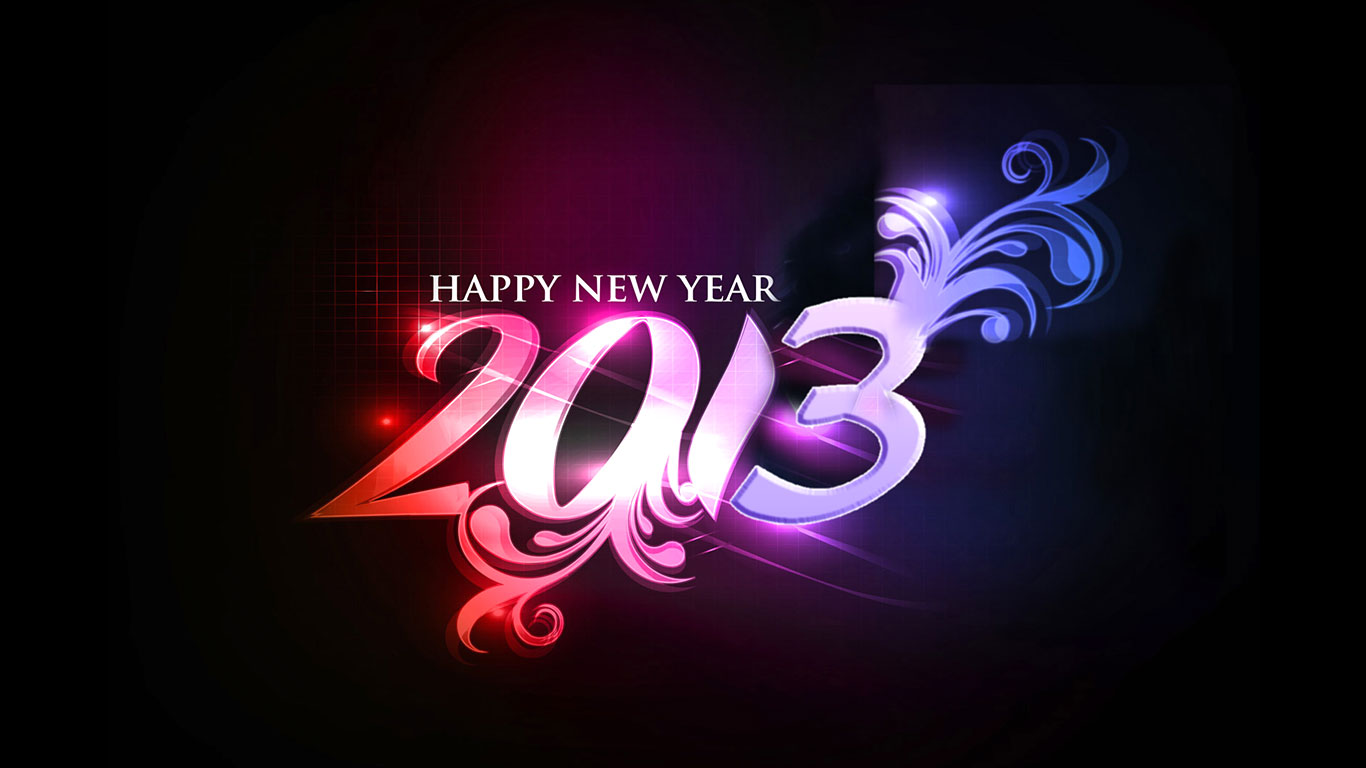 See More Happy New Year Wallpapers 2013. 1366 x 768.Nhac Happy New Year 2014