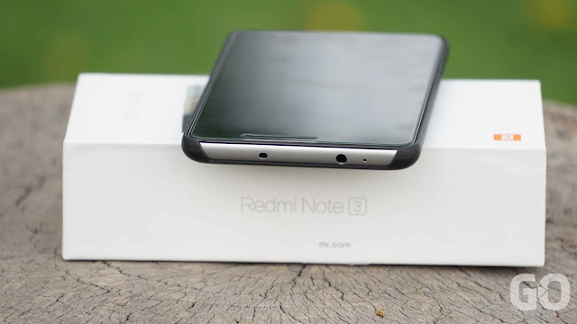 Xiaomi Redmi Note 3 Top View