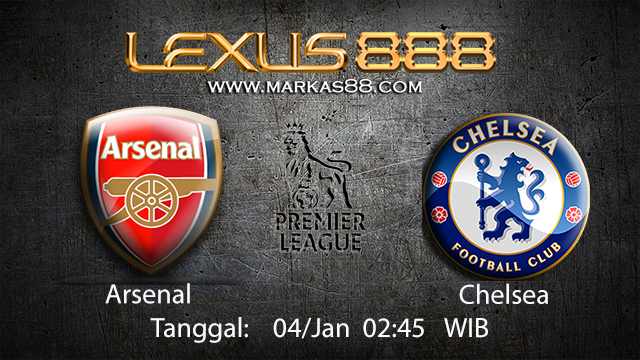 PREDIKSIBOLA - PREDIKSI TARUHAN BOLA ARSENAL VS CHELSEA 04 JANUARI 2018 ( ENGLISH PREMIER LEAGUE )