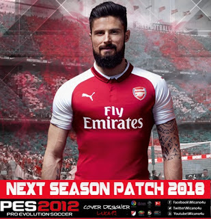 PES 2012 PES Next Season Patch 2017/2018